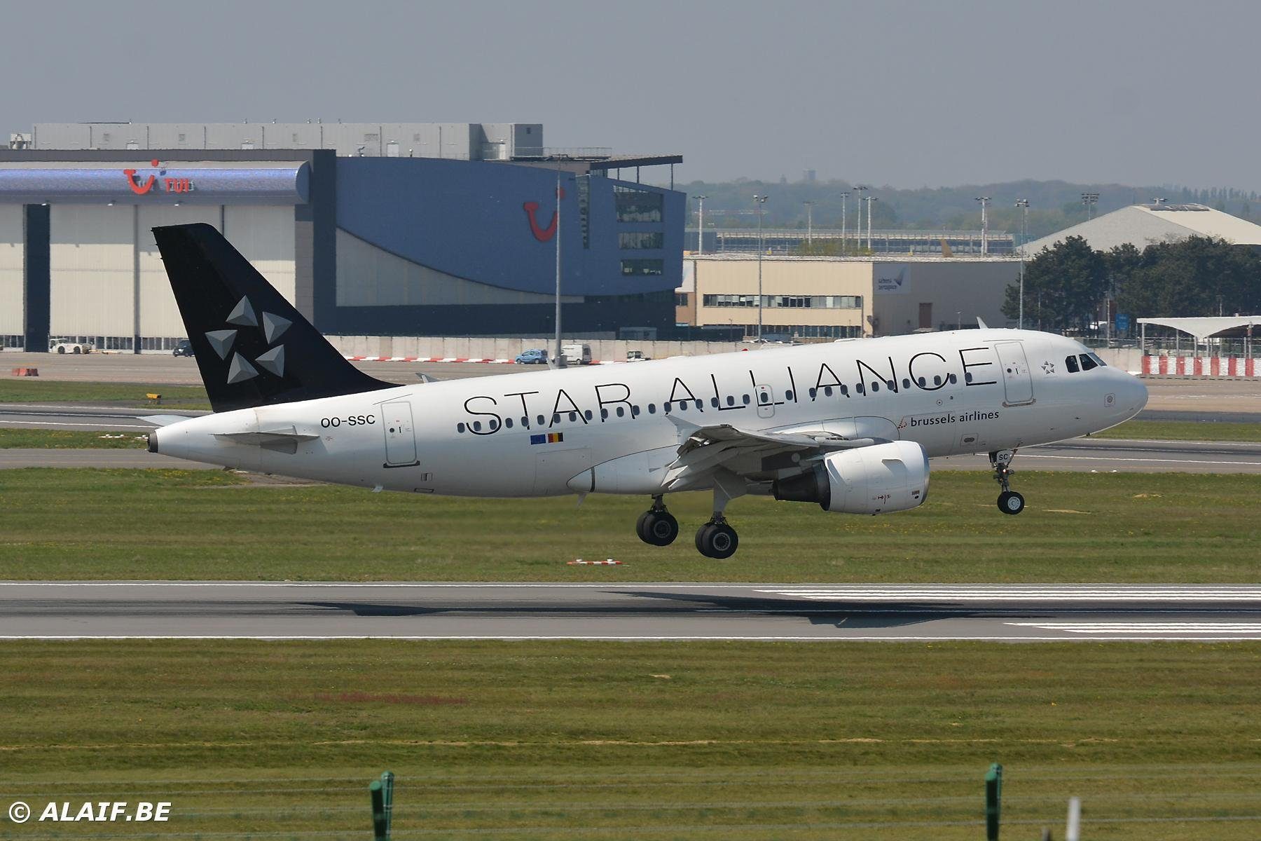 Star Alliance livery