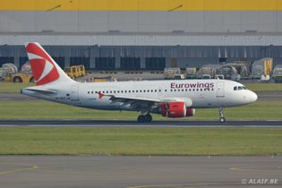 Czech Airlines with Eurowings livery
