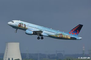 "Brussels Airlines OO-SNF ""Amare"""